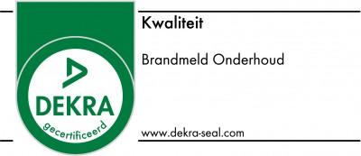 DEKRA-SIEGEL-5832 RGB Brandmeld Onderhoud